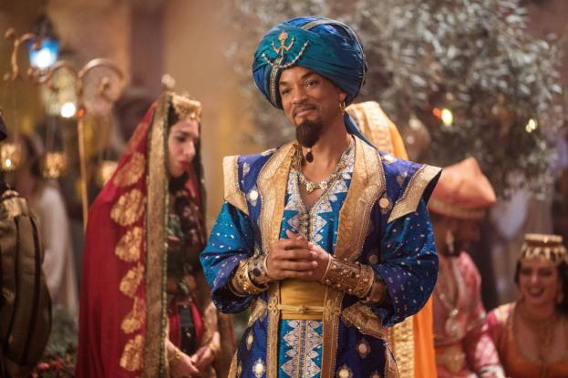 Disney Aladdin's Genie is Will Smith