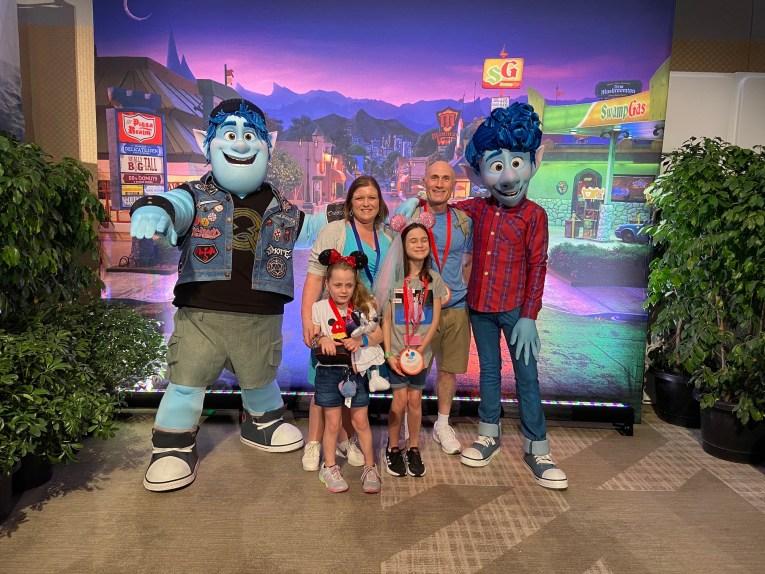 Disney Pixar's Onward Crew