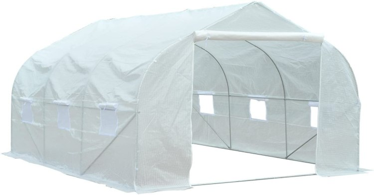 Product image of the Outsunny 12 x 10 greenhouse