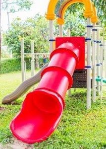 outdoor slide for homes for kids