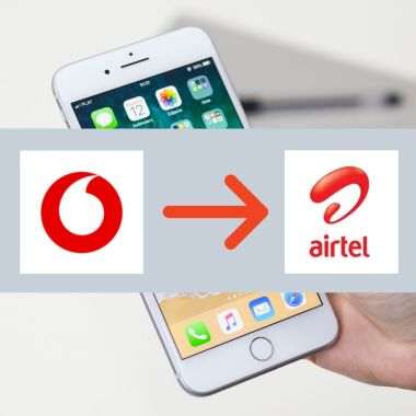 port from vodafone to airtel