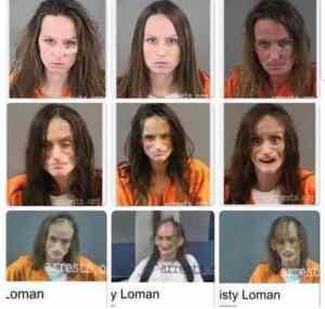 Misty Loman Mugshots