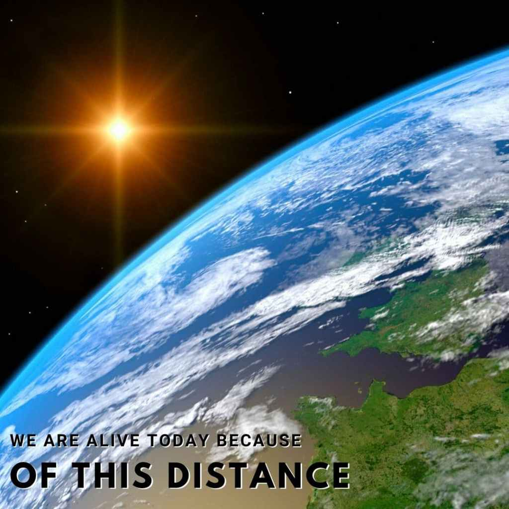 distance between earth and sun