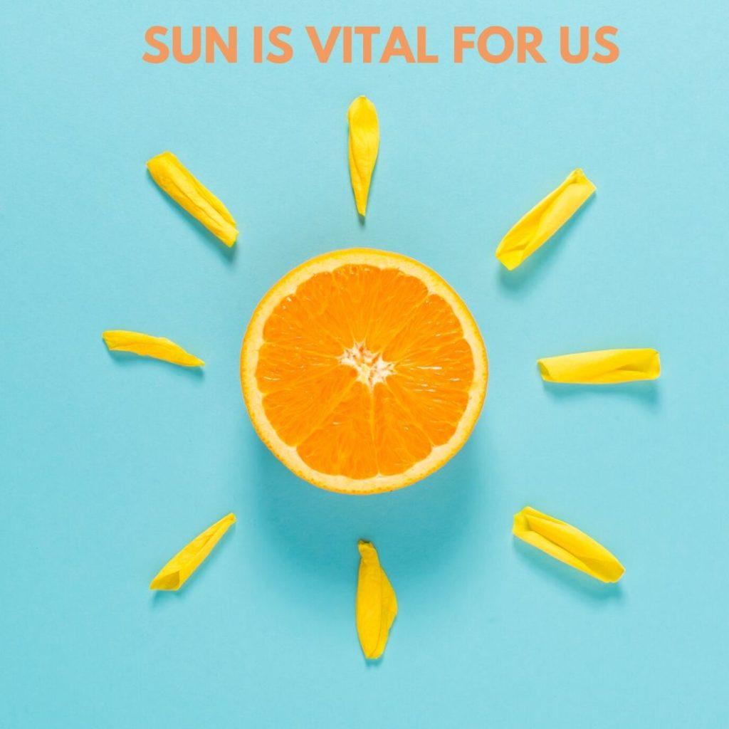 sun is vital for life on earth