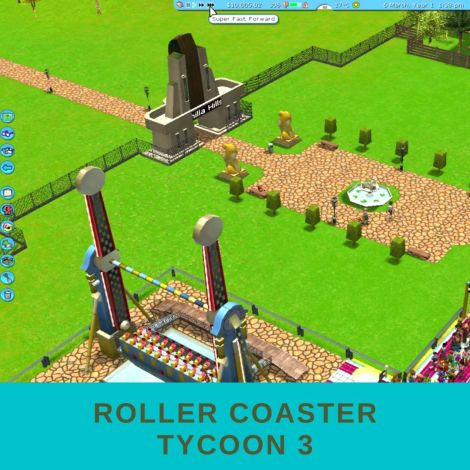 roller coaster tycoon - altnerative to zoo tycoon