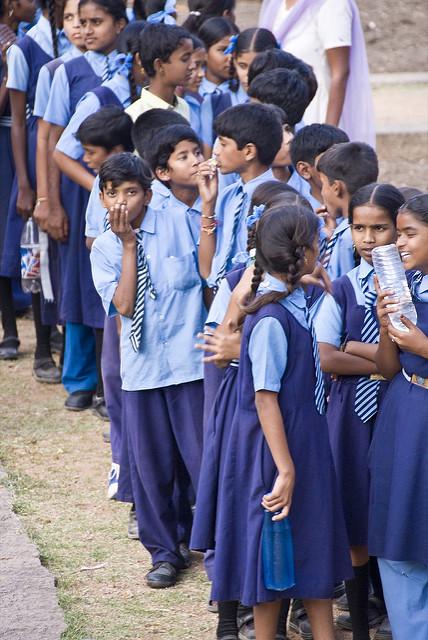 de-worming school children ned