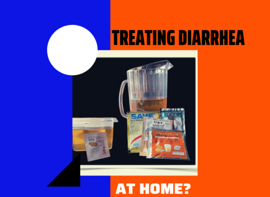 Treating diarrhea in babies at home