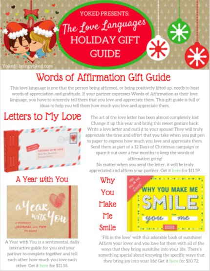 Christmas affirmations