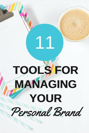 tools for managing your personal brand