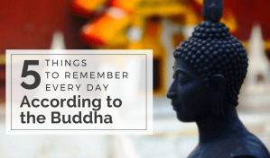 5 daily recollections according to the Buddha