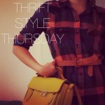 As Plaid As I will Ever Get // Thrift Style Thursday
