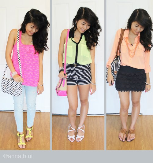 beinspireful - neon outfits