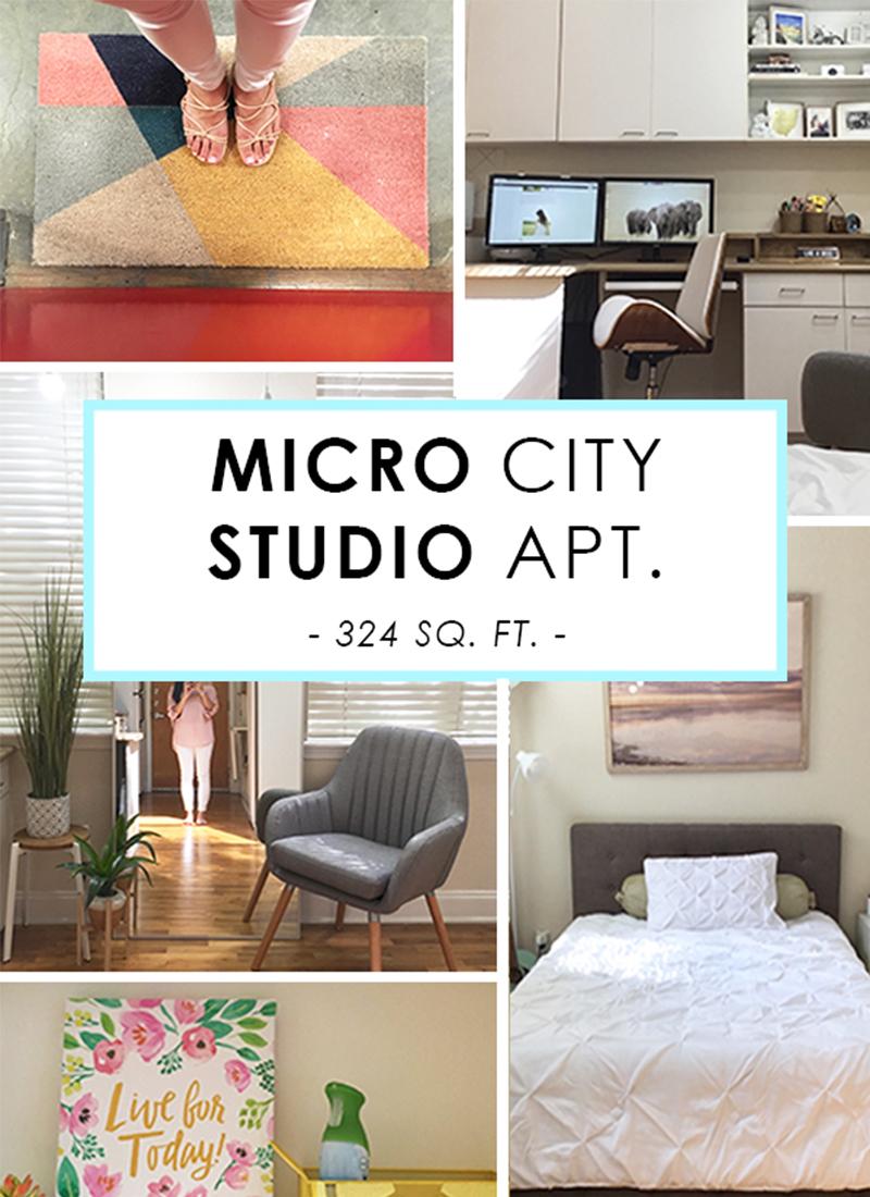 City Studio Apartment Tour (324 Sq. Ft. – $655 Rent)