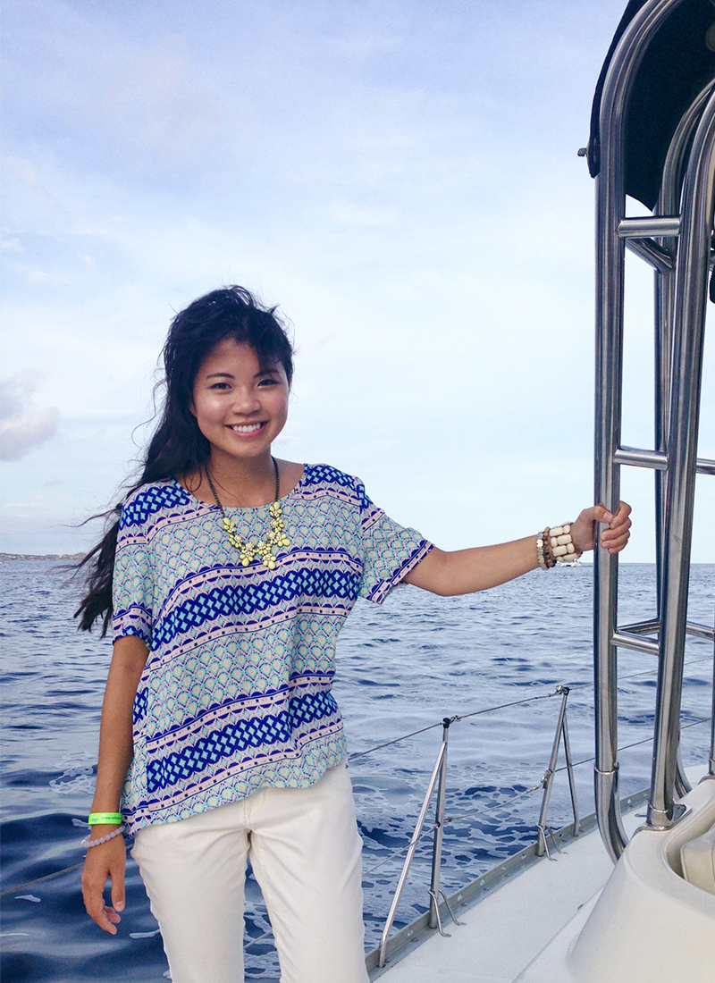 Outfit of the Day: Los Cabos Boat Cruise