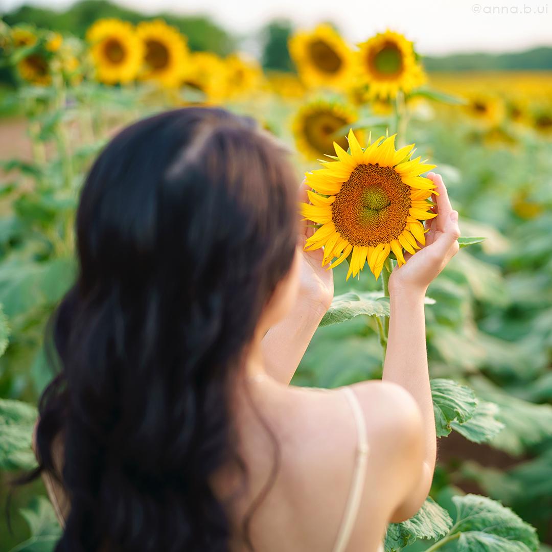 BeInspireful - Sunny Sunflower Field Yellow Dress 17