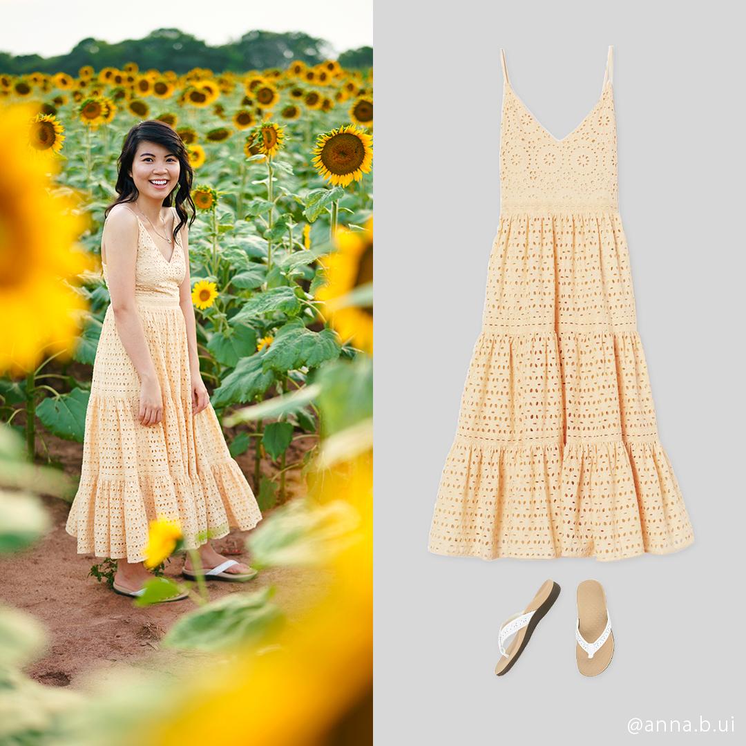 BeInspireful - Sunny Sunflower Field Yellow Dress 20