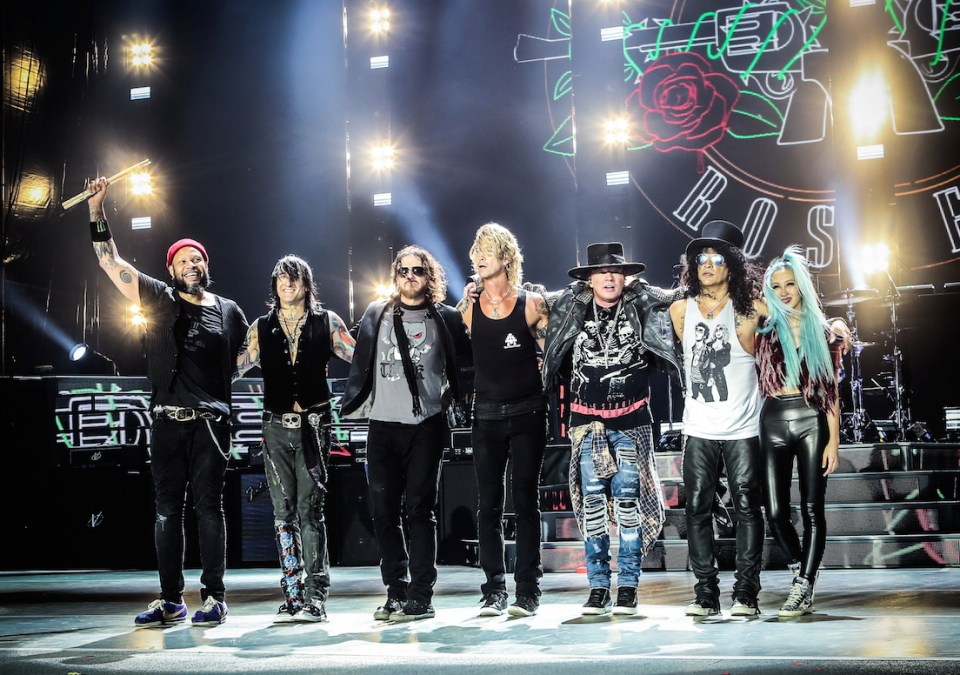 Guns N Roses at Soldier Field Chicago July 3 2016 4