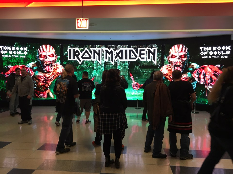 Iron Maiden Chicago United Center 4
