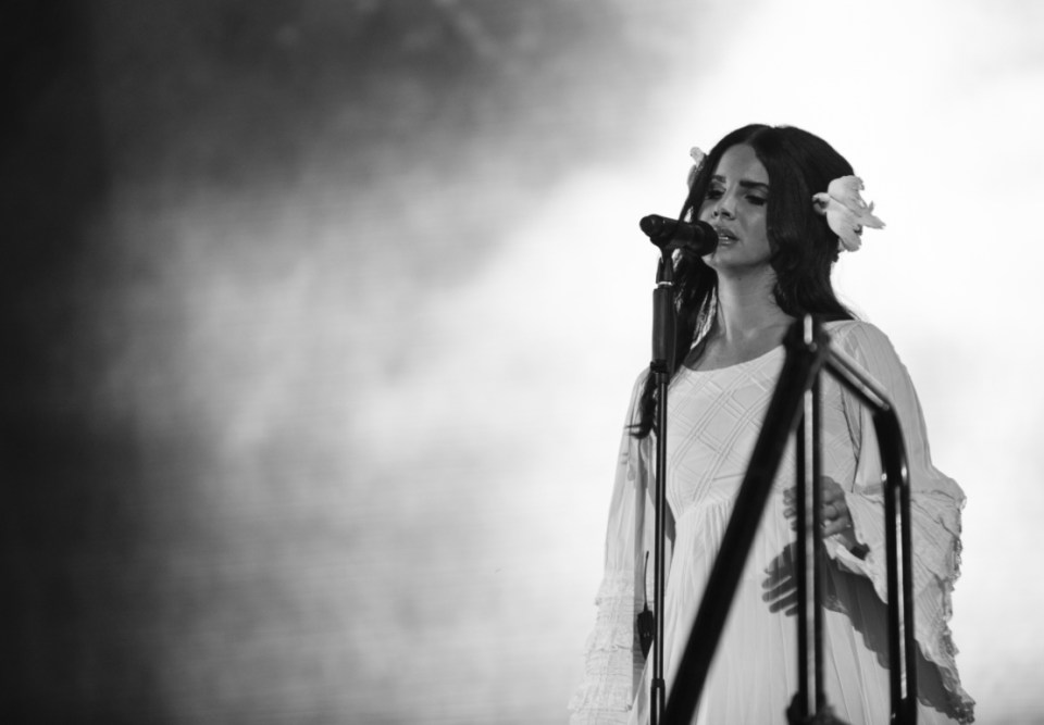 Lana Del Rey at Lollapalooza 2016