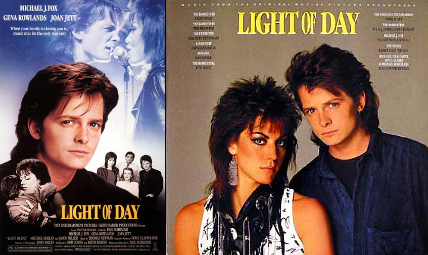 Light of Day poster and soundtrack