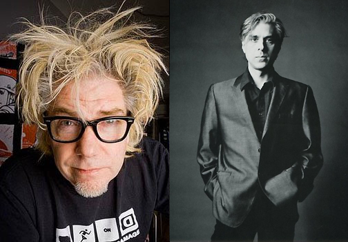 Martin Atkins and Bill Rieflin