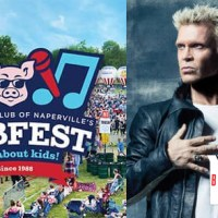 Billy Idol to Headline Naperville's Ribfest July 3rd, 2019