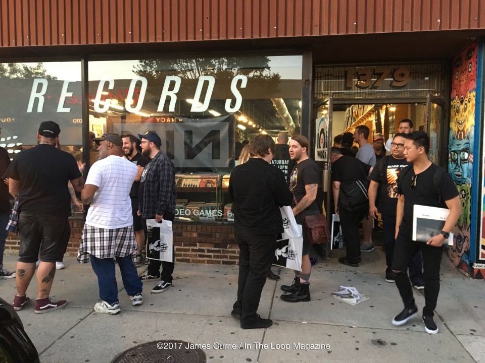In The Loop Magazine Nine Inch Nails Make Surprise Record Store ...