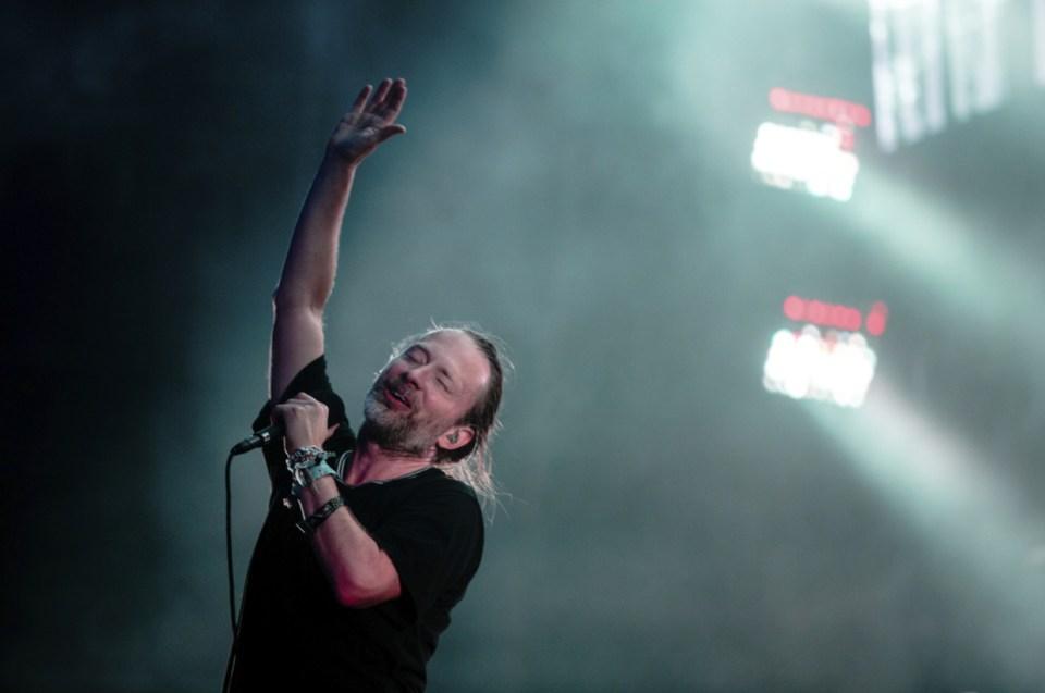 Radiohead at Lollapalooza 2016 1