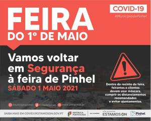 Feira do 1º de Maio este sábado em Pinhel
