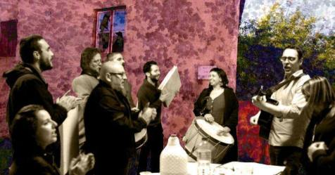 Projeto Terra das 7 Vozes apresentado no Teatro Municipal da Guarda