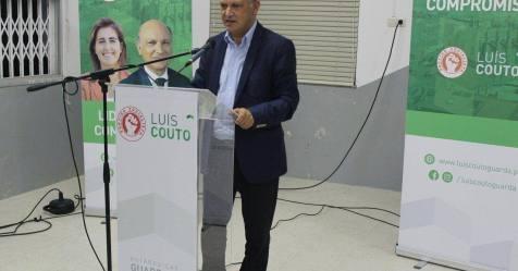 Autárquicas: Luís Couto (PS) promete porto seco na concordância das linhas das beiras Alta e Baixa