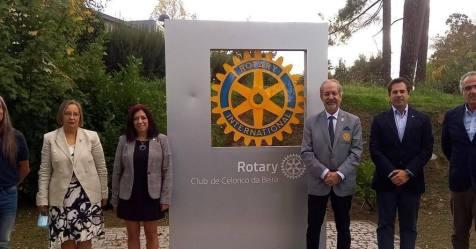Governador do Rotary Internacional 1970 visita Celorico da Beira