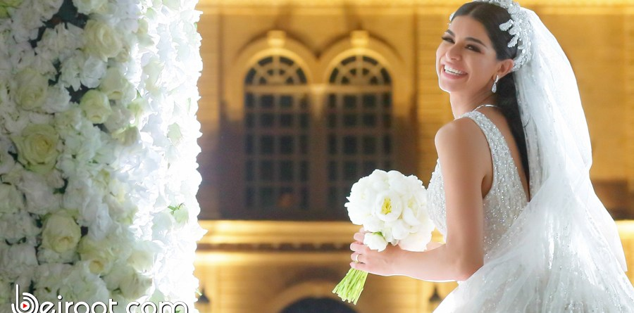 rima fakih - wedding - beiroot