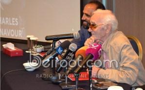 شارل أزنافور مستعد لتعلّم العربية لأجل فيروز