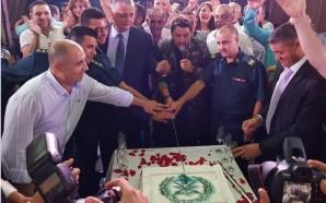 هشام الحاج يغني الوطن في عيد الجيش