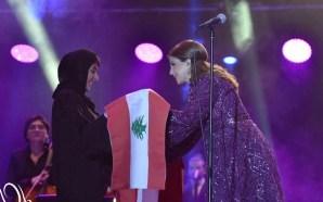 ماجدة الرومي: الله لا يحرمنا ضحكة دبي