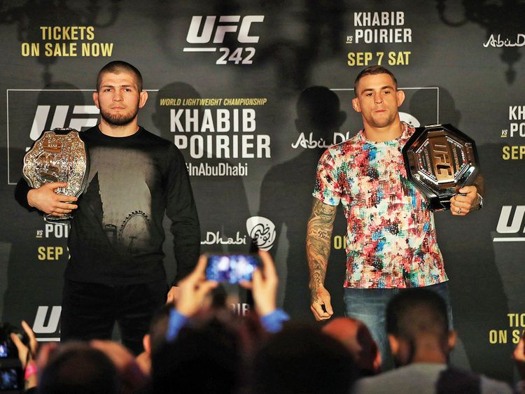 Ultimate Fighting Championship set to wow the YAS Arena this weekend