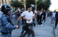 Uprising Day 34: Protesters clash with security forces in Beirut