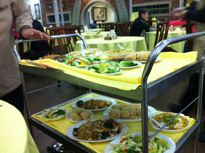 lunch at the Monastery restaurant