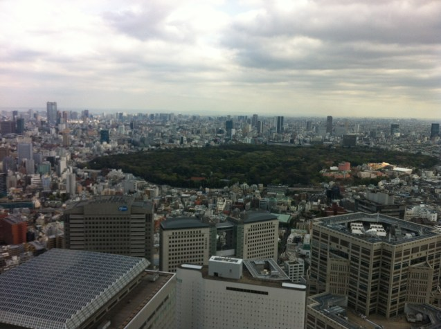 View of Tokyo