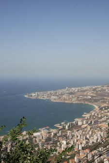 The view from Harissa, Lebanon