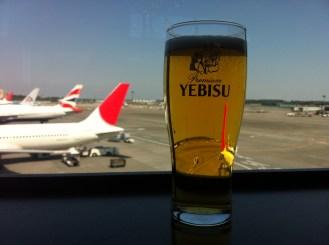My last beer in Japan