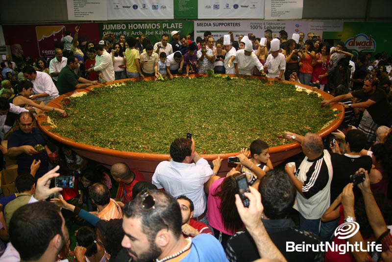 The World Largest Tabouleh Plate