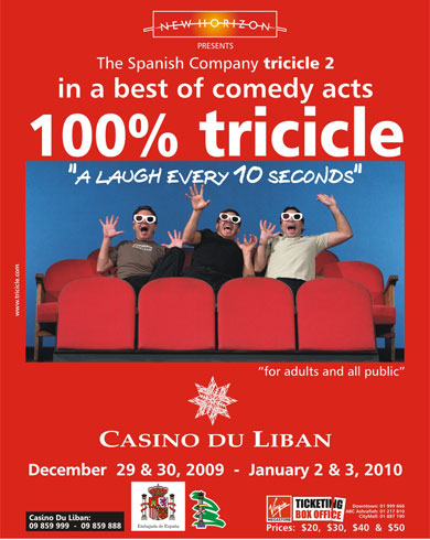 100% Tricicle @ Casino du Liban