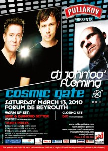 Cosmic Gate & John OO Fleming in Lebanon