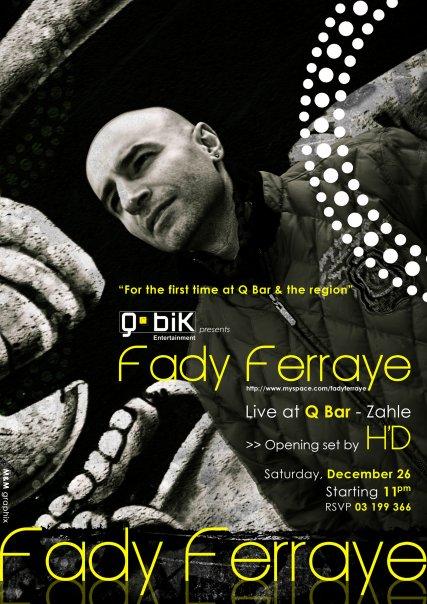 Fady Ferraye @ Q Bar