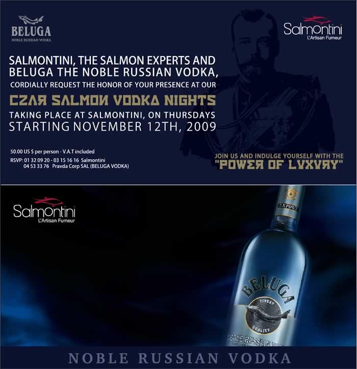 Salmon Vodka Nights