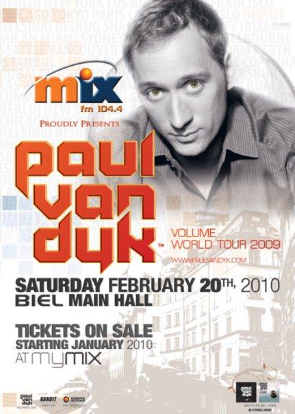 Paul Van Dyk @ Biel