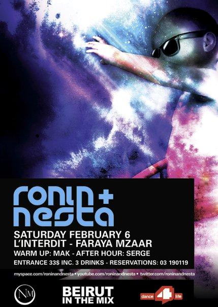 Ronin & Nesta @ L'Interdit