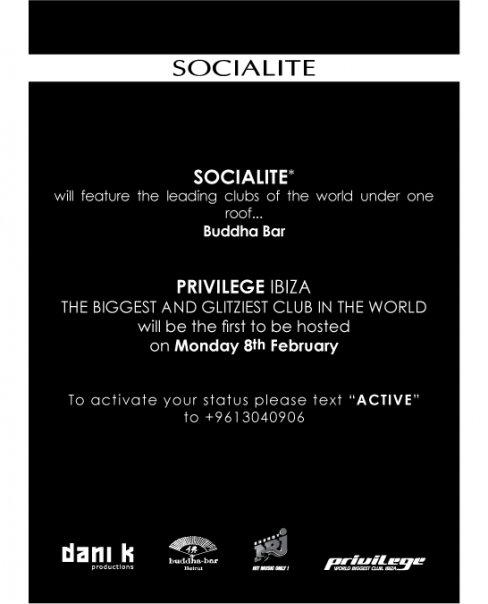 Privilege Ibiza @ Buddha-Bar Beirut